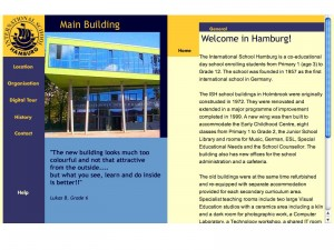 Website Hamburg International School
